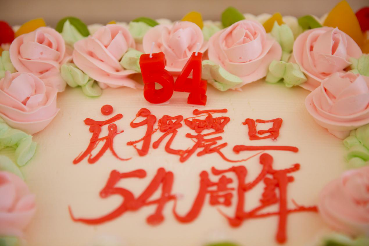 祝福震旦集团 54周年生日快乐