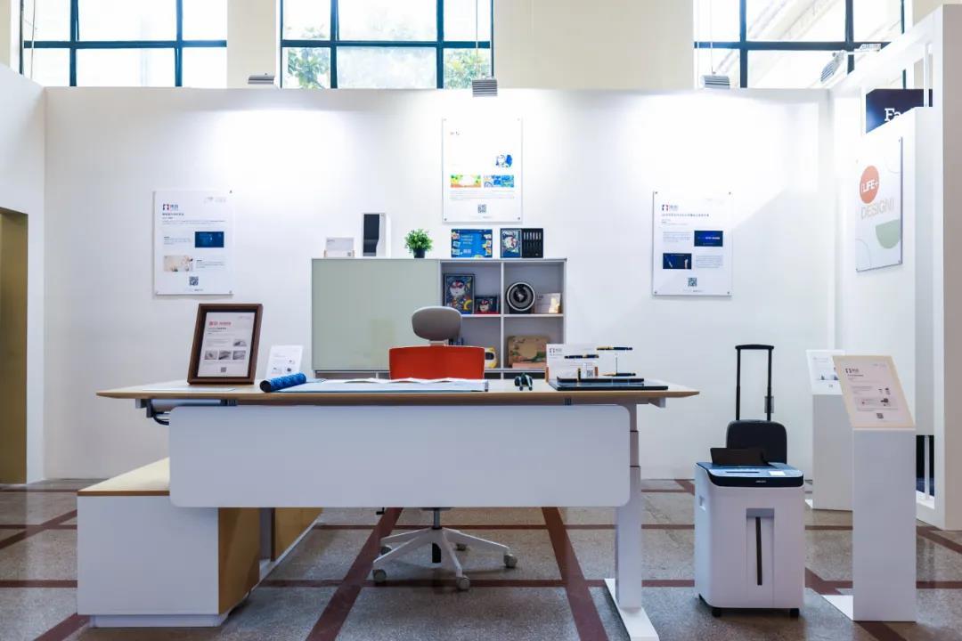 """2020年11月震旦家具产品在上海""""设计之都""""十周年成果回顾展"""