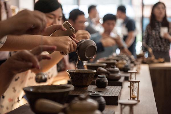 老济安—青草茶文化茶席