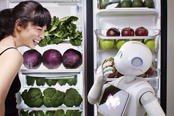 日本软体银行的Pepper机器人