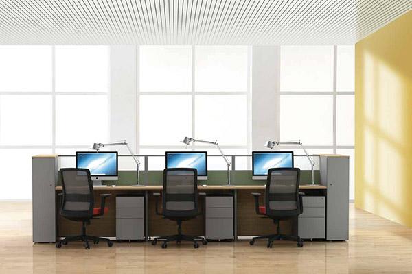 ▲职员空间(屏风、钢柜类商品)