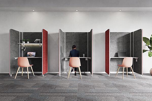 「以人为本」的办公设计,兼具开放与隐私,鼓励同仁依据需求自由选择办公场景。
