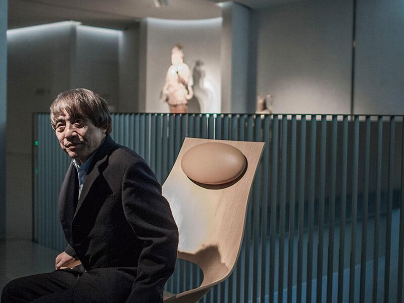 图一:2013年安藤忠雄在震旦博物馆